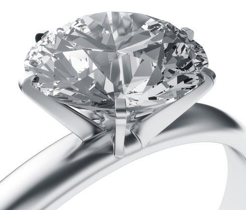 Ringfassung - Syntethische Industrie- und Schmuckdiamanten