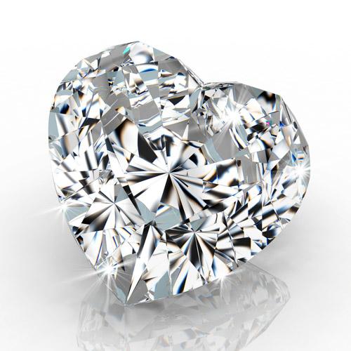 Herz Diamant - Syntethische Industrie- und Schmuckdiamanten